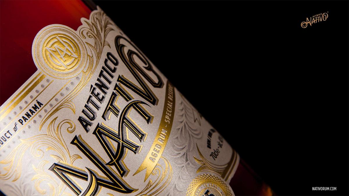 Auténtico Nativo - 15 Years old Rum - 6 x 700ml Glass Bottle