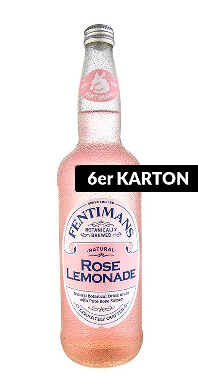 Fentimans - Rose Lemonade - 6 x 750ml Glass Bottle