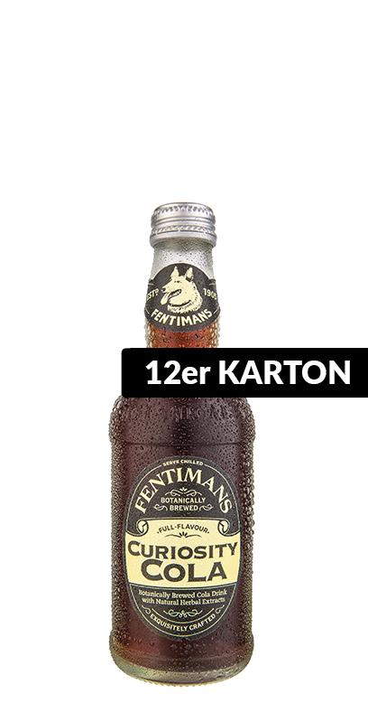Fentimans - Curiosity Cola - 12 x 275ml Glass Bottle