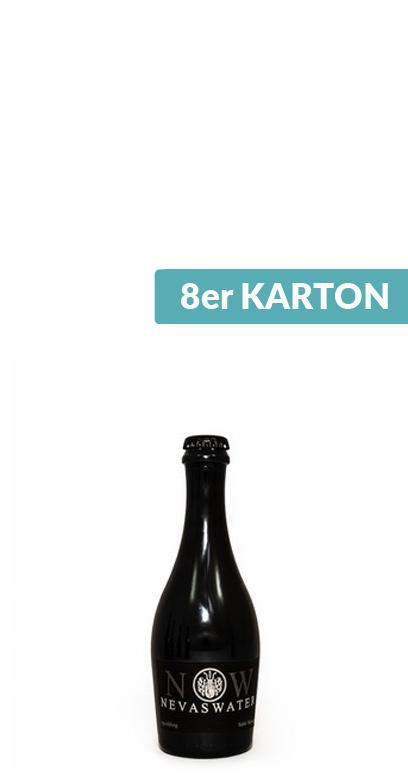 Nevas Water - Premium Cuvée Water, sparkling - 8 x 330ml Glass Bottle