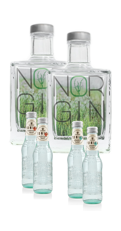 NorGin Bundle - Buy 2x NorGin and we add in 4x La Galvanina Bio Tonics (2x Classic & 2x Mediterran) for FREE!