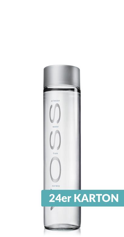 Voss Water - Premium Water - still - 24 x 375ml Glass Bottle