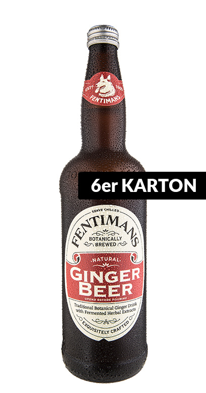 Fentimans - Ginger Beer, non - alcoholic - 6 x 750ml Glass Bottle