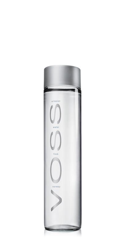 Voss Water - Premium Water - still - 1 x 375ml Glass Bottle