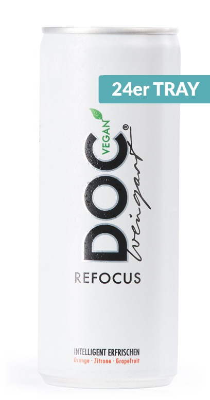 Doc Weingart - Refocus Sport Active Drink - 24 x 250ml Vegan Can