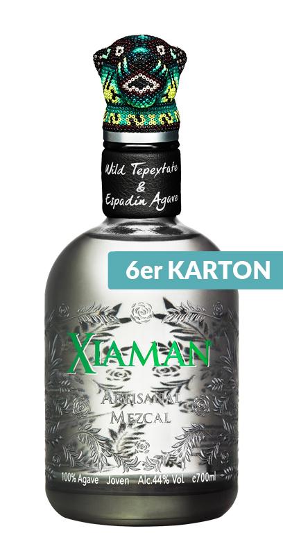 Xiaman - Artisanal Mezcal - 6 x 700ml Glass Bottle