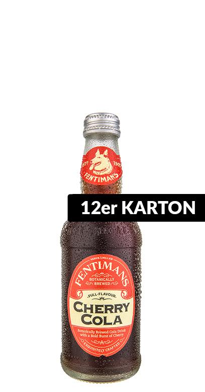 Fentimans - Cherry Cola - 12 x 275ml Glass Bottle