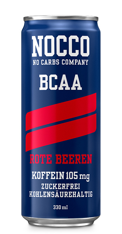NOCCO BCAA - Red berries - 1 x 330ml Can