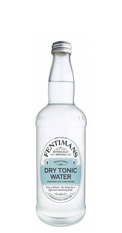 Fentimans - Dry Tonic Water - 1 x 500ml Glass Bottle