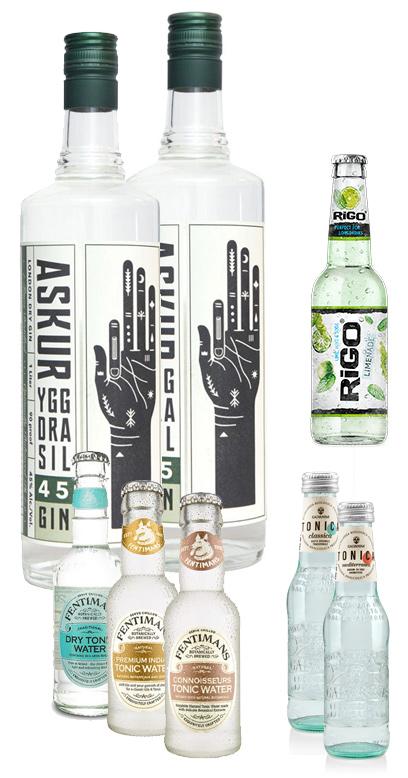Askur Gin Bundle - Buy 2x Askur Gin and we add 6x Premium Tonics for FREE!