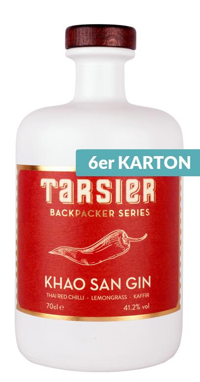 Tarsier - Khao San Gin - 6 x 700ml Glass Bottle