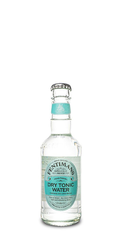 Fentimans - Dry Tonic Water - 1 x 200ml Glass Bottle