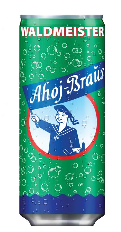 Ahoj Brause Drink - Woodruff - 1 x 330ml Can
