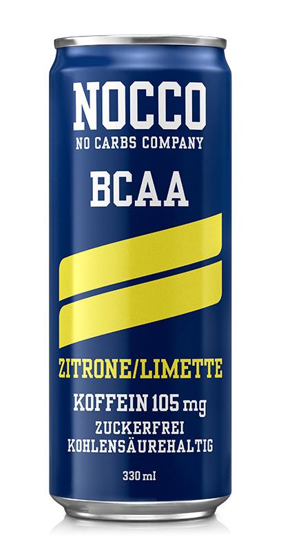 NOCCO BCAA - Lemon, lime - 1 x 330ml Can