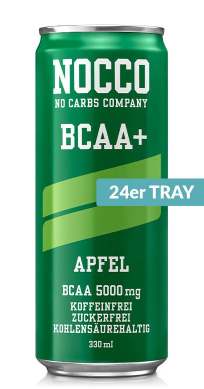 NOCCO BCAA+ - Apple - 24 x 330ml Can