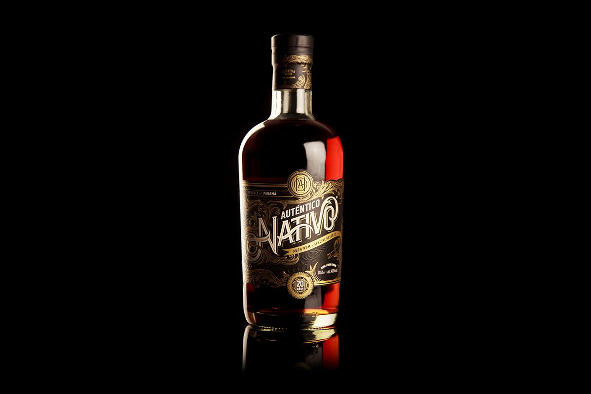 Auténtico Nativo - 20 Years old Rum - 6 x 700ml Glass Bottle