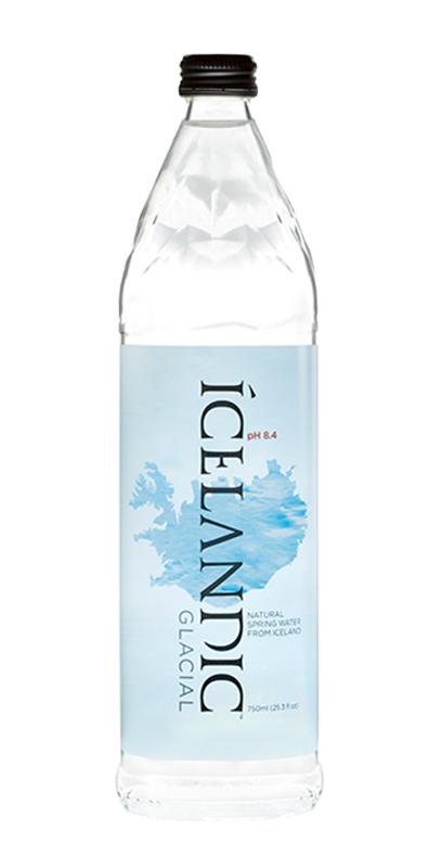 Icelandic Glacial Water - Iceland Premium Water, still - 1 x 750ml Glass Bottle