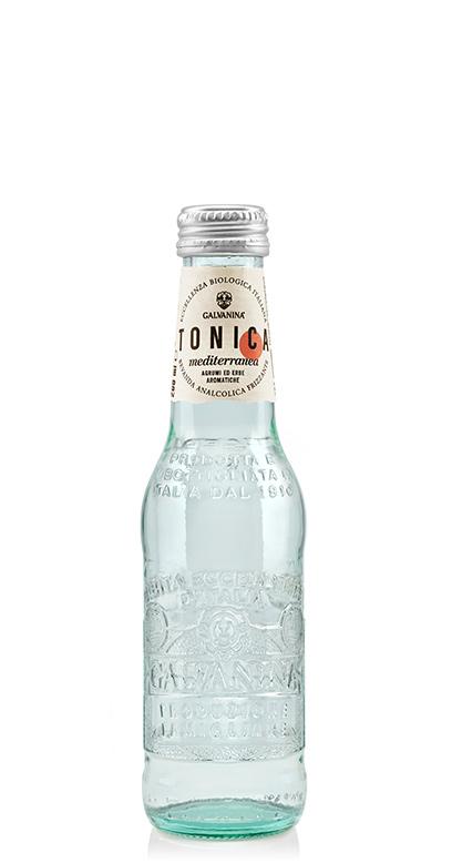 Galvanina - Bio Tonic Water, Mediterranean - 1 x 200ml Glass Bottle