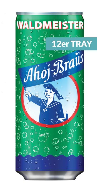 Ahoj Brause Drink - Woodruff - 12 x 330ml Can