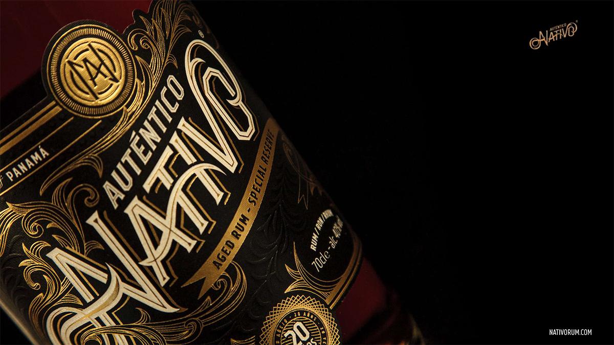Auténtico Nativo - 20 Years old Rum - 1 x 700ml Glass Bottle