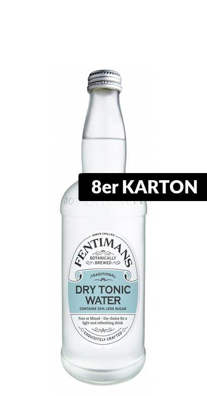 Fentimans - Dry Tonic Water - 8 x 500ml Glass Bottle