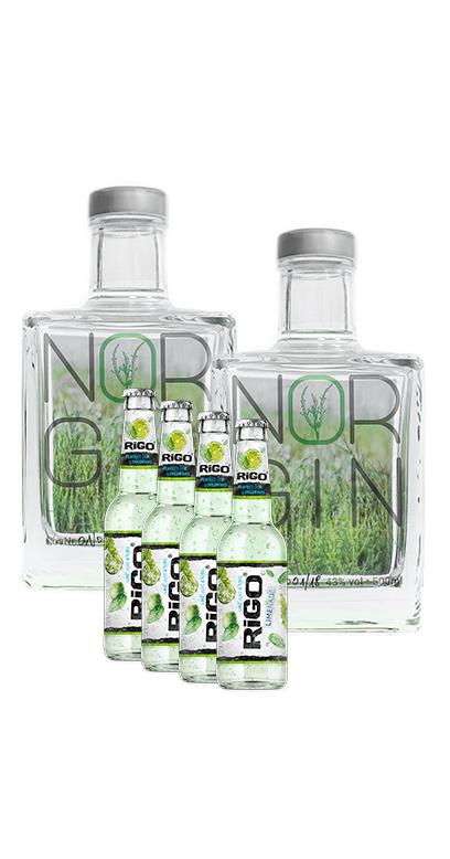 NorGin Bundle - Compra 2x NorGin y te daremos 4x Veen Tonics GRATIS!