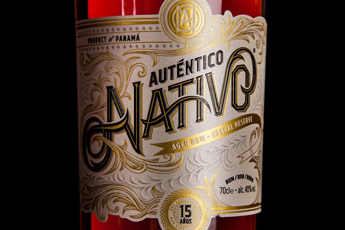 Auténtico Nativo - 15 Years old Rum - 1 x 700ml Glass Bottle