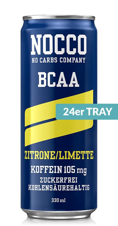 NOCCO BCAA - Lemon, lime - 24 x 330ml Can