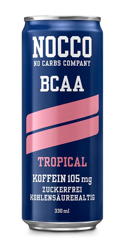 NOCCO BCAA - Tropical - 1 x 330ml Can