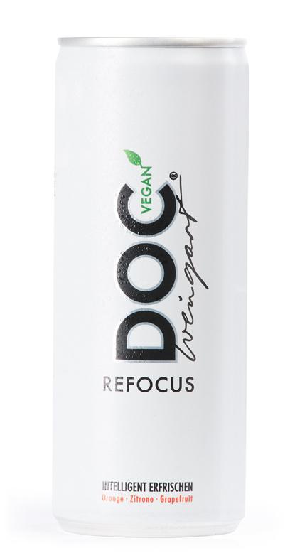 Doc Weingart - Refocus Sport Active Drink - 1 x 250ml Vegan Can
