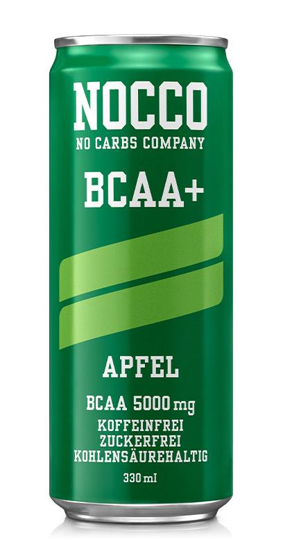 NOCCO BCAA+ - Apple - 1 x 330ml Can