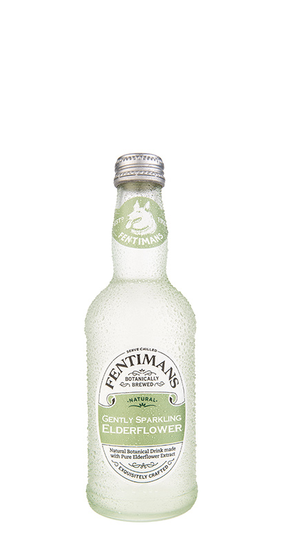 Fentimans - Gently Sparkling Elderflower - 1 x 275ml Glass Bottle