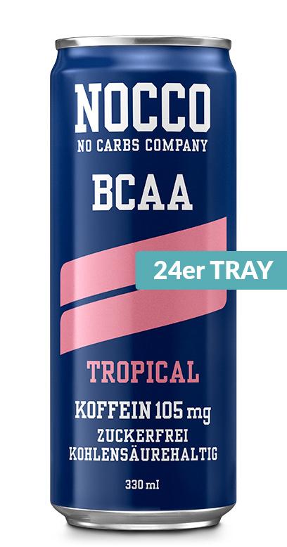 NOCCO BCAA - Tropical - 24 x 330ml Can