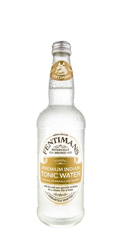 Fentimans - Premium Indian Tonic - 1 x 500ml Glass Bottle