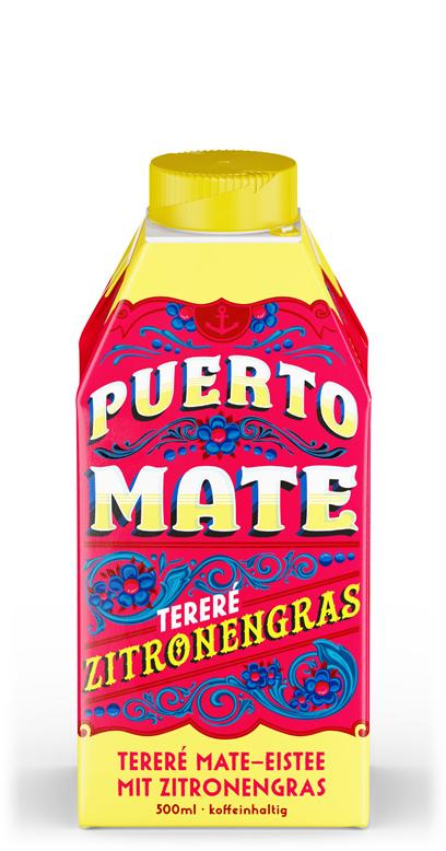 Puerto Mate - Lemongrass - 1 x 500ml Tetra-Pak