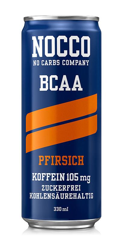 NOCCO BCAA - Peach - 1 x 330ml Can