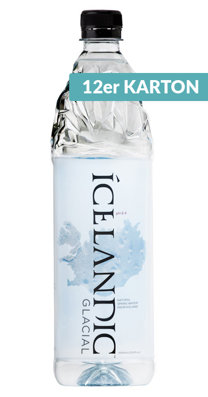 Icelandic Glacial Water - Iceland Premium Wasser, still - 12 x 1000ml PET Bottle
