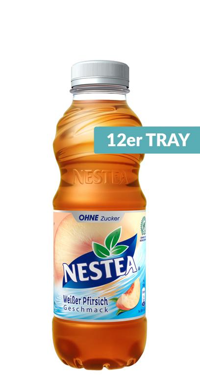Nestea - White Peach Zero - 12 x 500ml PET Bottle