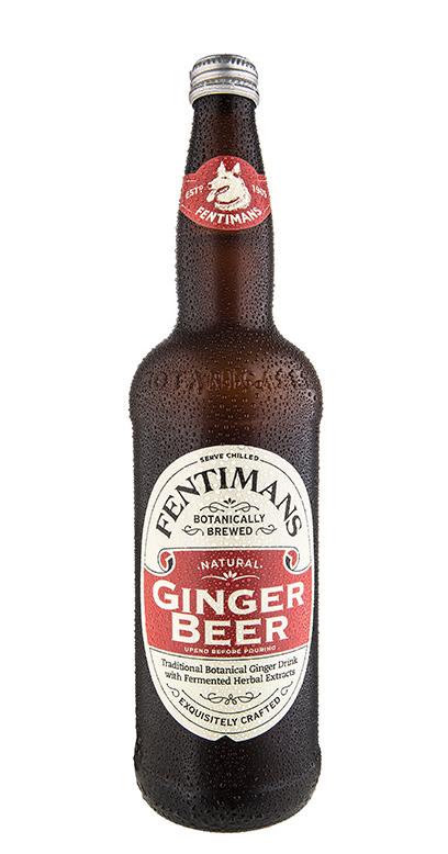 Fentimans - Ginger Beer, non - alcoholic - 1 x 750ml Glass Bottle