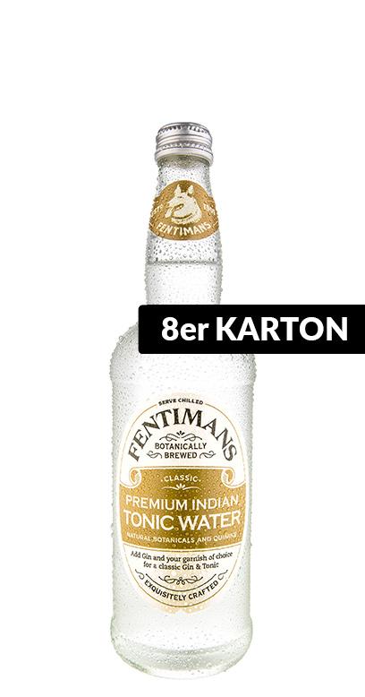 Fentimans - Premium Indian Tonic - 8 x 500ml Glass Bottle