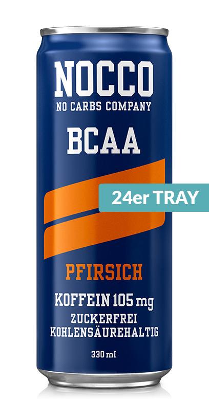 NOCCO BCAA - Peach - 24 x 330ml Can
