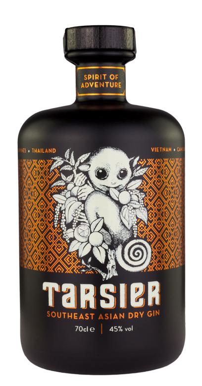 Tarsier - South East Asian Dry Gin - 1 x 700ml Glass Bottle