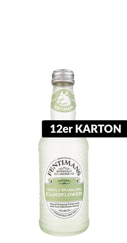 Fentimans - Gently Sparkling Elderflower - 12 x 275ml Glass Bottle
