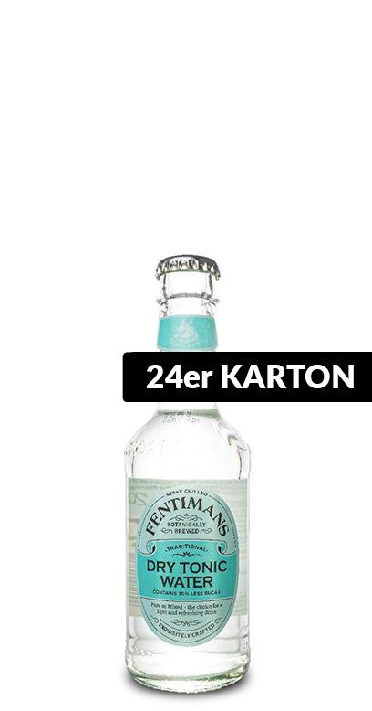 Fentimans - Dry Tonic Water - 24 x 200ml Glass Bottle