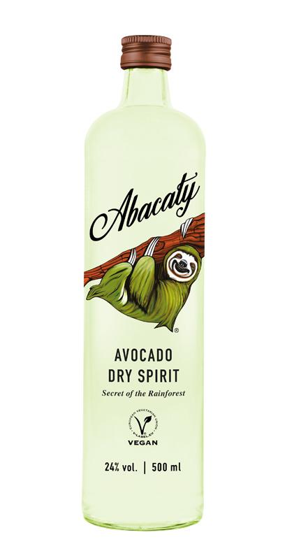 Abacaty - Aguacate Seco Espíritu - 1 x 50cl Botella de vidrio