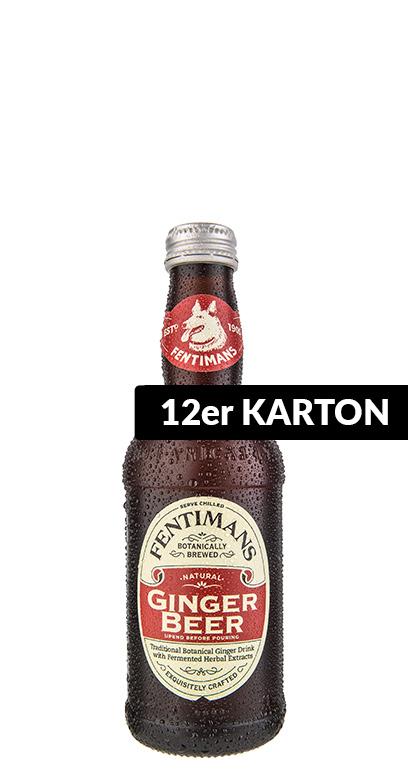 Fentimans - Fentimans - Ginger Beer, non - alcoholic - 12 x 275ml Glass Bottle