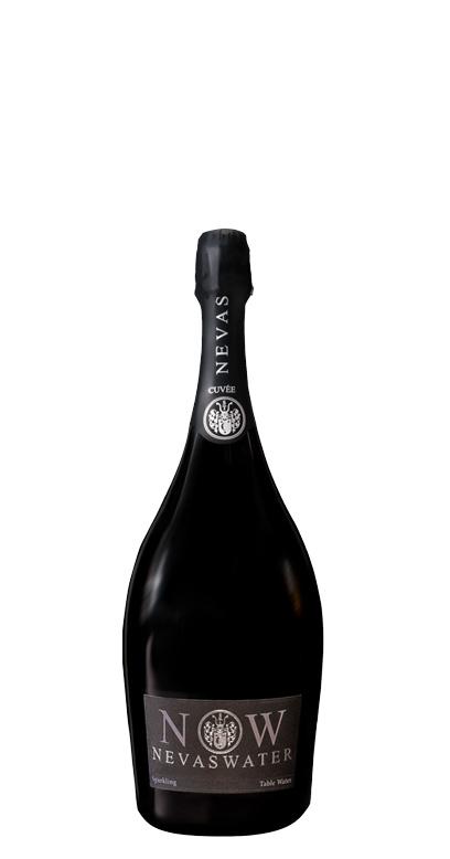 Nevas Water - Premium Cuvée Water, sparkling - 1 x 750ml Glass Bottle